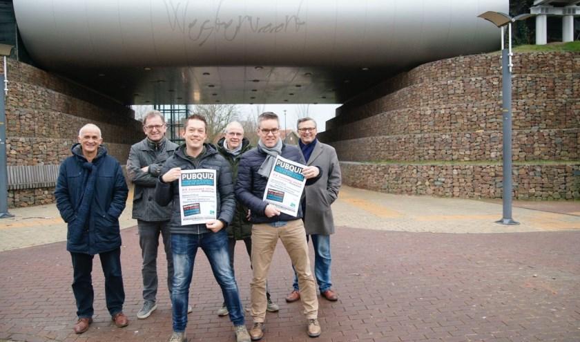 Pubquiz organisatie team. (foto: Piet Wijnands)