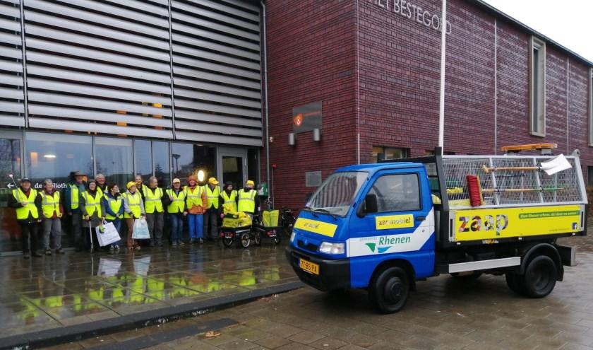 ZAAP Vrijwilligers Elst. (foto: Ton van der Wal)