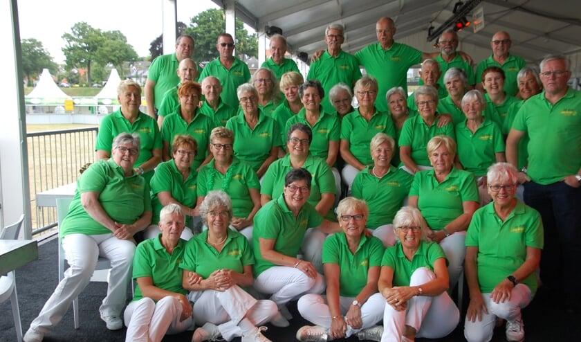 Groepsfoto OBJB Rhenen. (foto: Riek van der Mast)