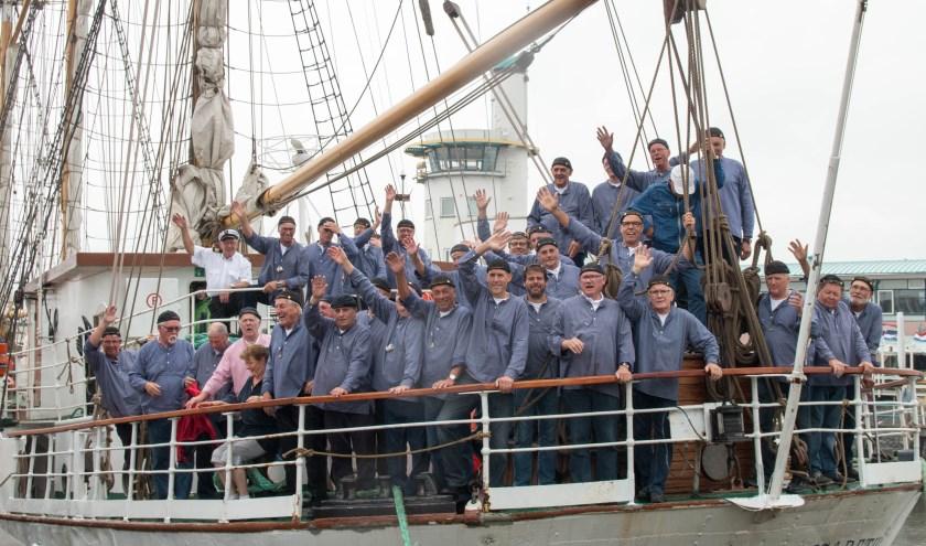 Schip Ahoy op de Grossherzogin Elisabeth. (foto: archief SA)