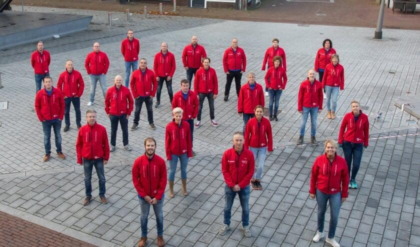 <p>Roparun-team031 lingewaard 2020-2021. (foto: bram jeurissen).</p>