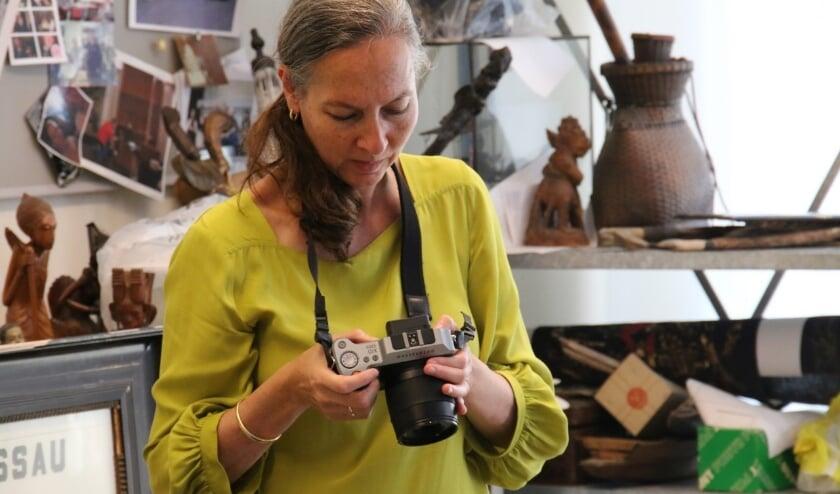Suzanne Liem in Bronbeek.