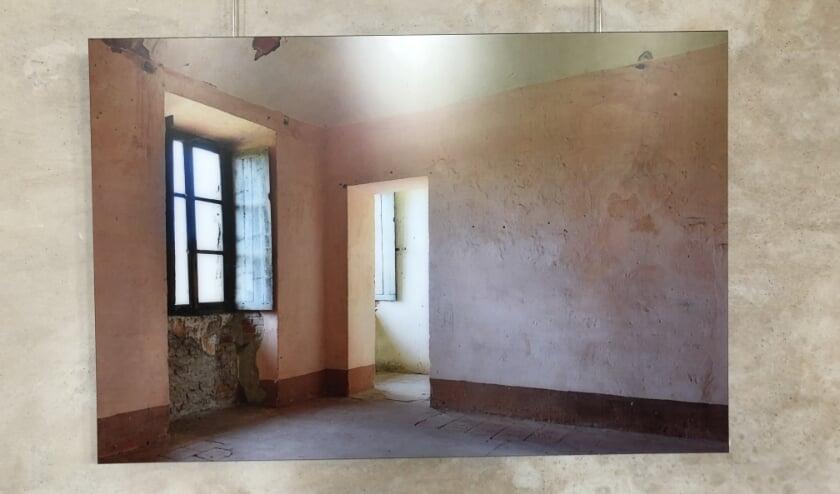 <p>De roze kamer van Colombara</p>