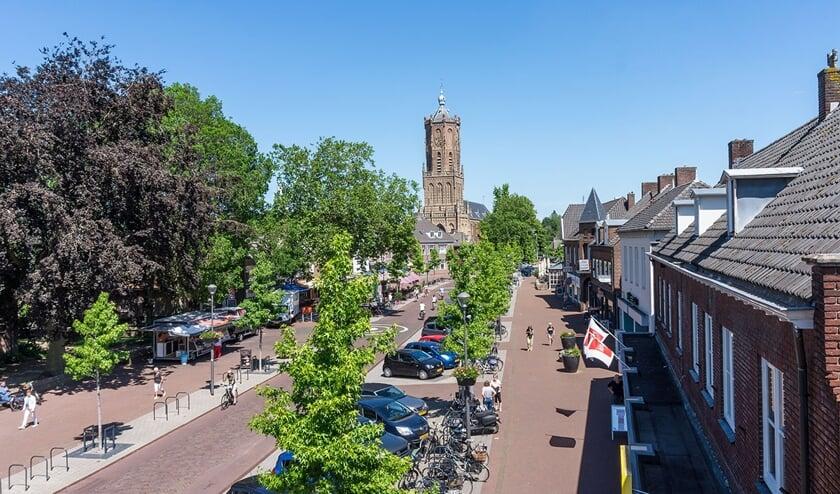 <p>Centrum van Elst. (foto: Hein Arns)</p>