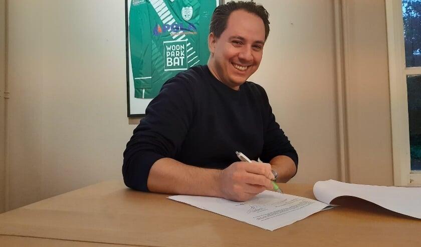 <p>Sander Kauw: &#39;Fijn om een club als SDZZ te ondersteunen.&#39; (foto: SDZZ)</p>
