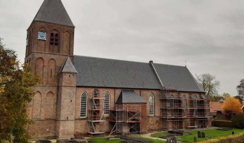 <p>Kerkrestauratie van de Hervormde Kerk in IJzendoorn. (foto: Herv. Gemeente IJzendoorn)</p>