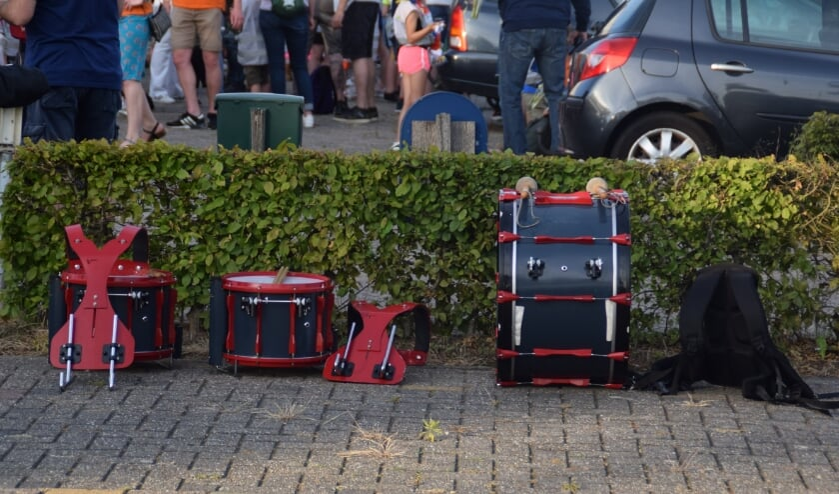 <p>Vermiste trommelgroep. (foto: Scouting Zetten Band)</p>