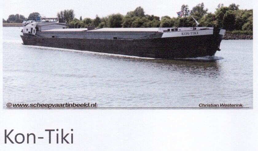 <p>ms. Kon-Tiki van verenigingslid Sterreschans. (foto: Christian Westerink)</p>