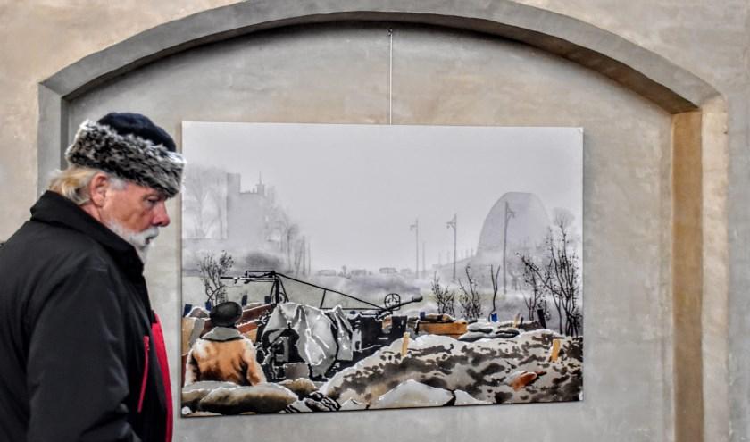 Schilderij december 1944. (foto: Piet Spanjers)