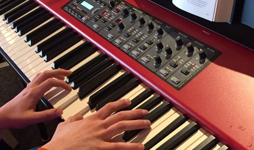 Piano van Betuwe Zingt. (foto: Ria Diepeveen)