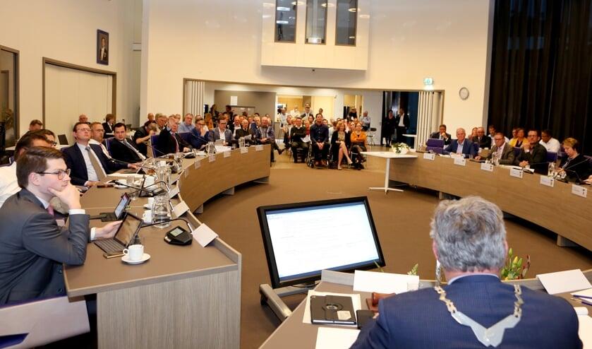 Gemeenteraad Neder-Betuwe. (foto: gemeente Neder-Betuwe)