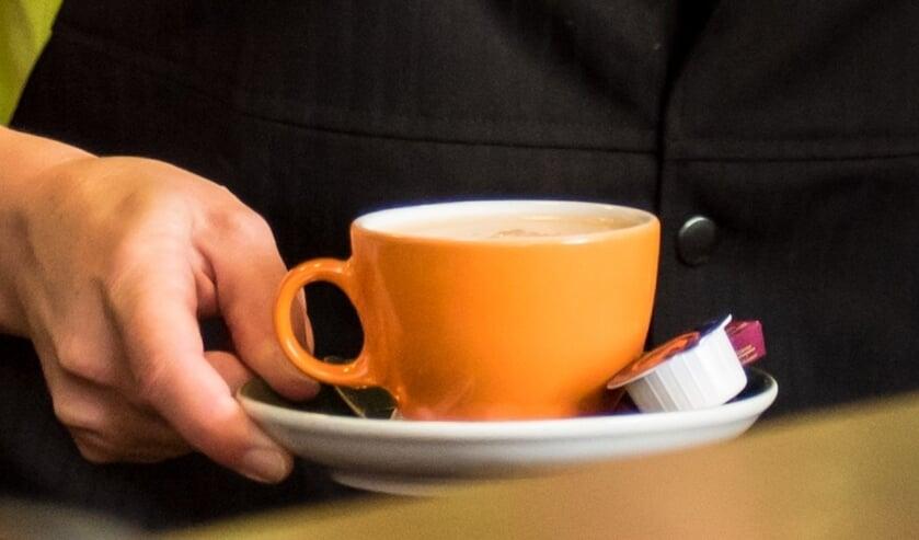 Een gezellig kopje koffie. (foto: Natasja Wolf)