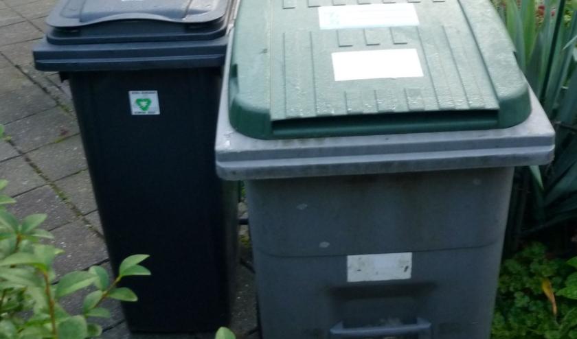 Afvalbakken. (foto: O. van Dijk)