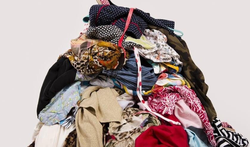 Het textiel stapelt zich op. (foto: Depositphotos)