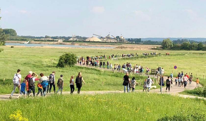 A4D Bemmel route door de polder. (foto: deBol Bemmel)
