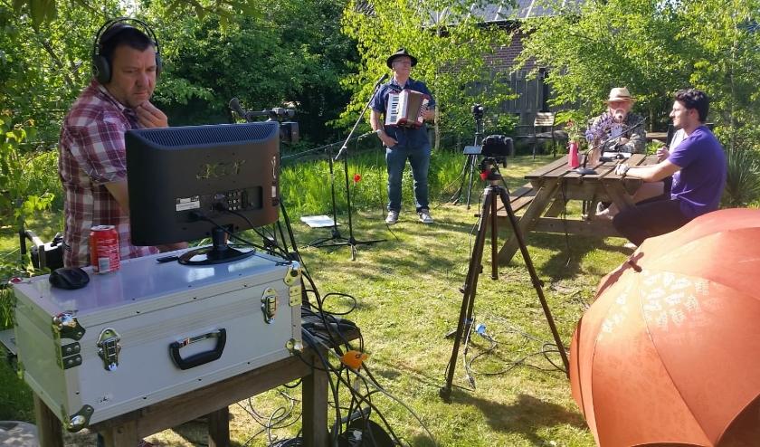opname Virtuele Herberg in de polder (foto: Kitty Gerritsen)