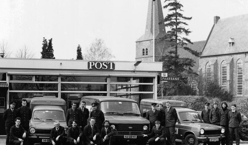 Postkantoor Groesbeek 1984. (foto: Groesbeeks Weekblad)