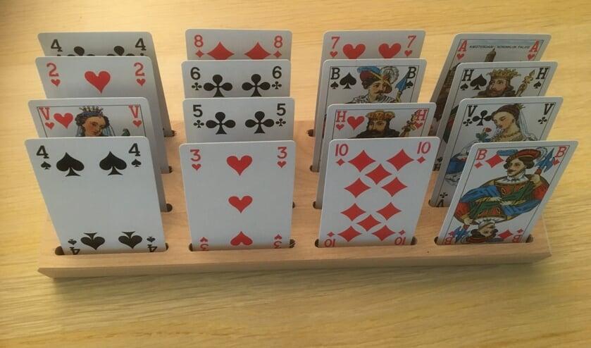 Kaartspel cartamore. (foto: Piet van Eekelen)