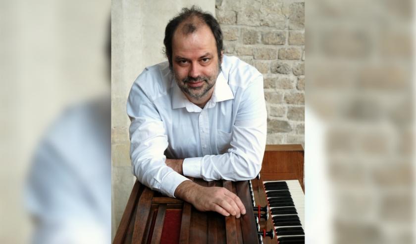 Dirk Luijmes, organist. (foto: Carel van Gestel)