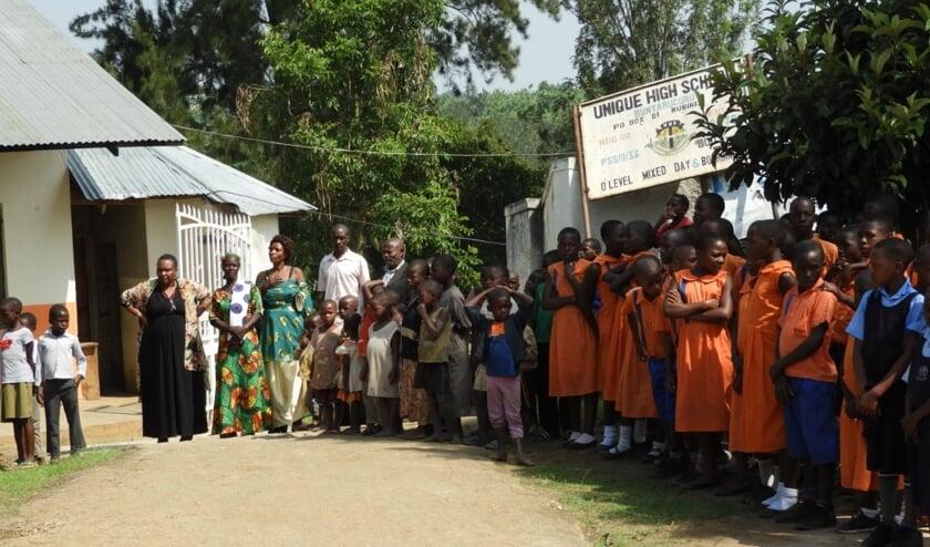 Unique highschool Uganda. (foto: Jacques Pouwels)