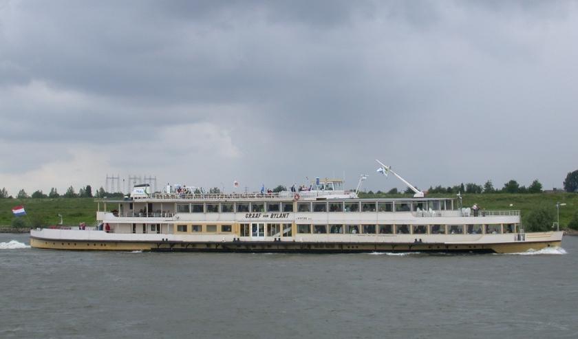Het schip waarmee Varen met Joop-2 de vaartochten maakt. (foto: Gerard Bloemberg)