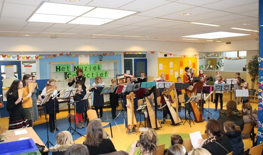 Voorspeelmiddag leerlingen van Het Muziek Collectief. (eigen foto)
