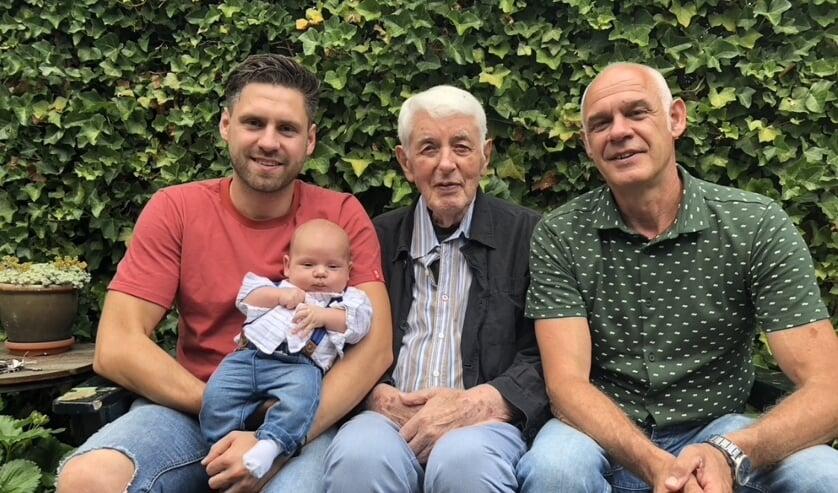Henk, Wiro, Mels en Nav Willems. (foto: Marc Willems)