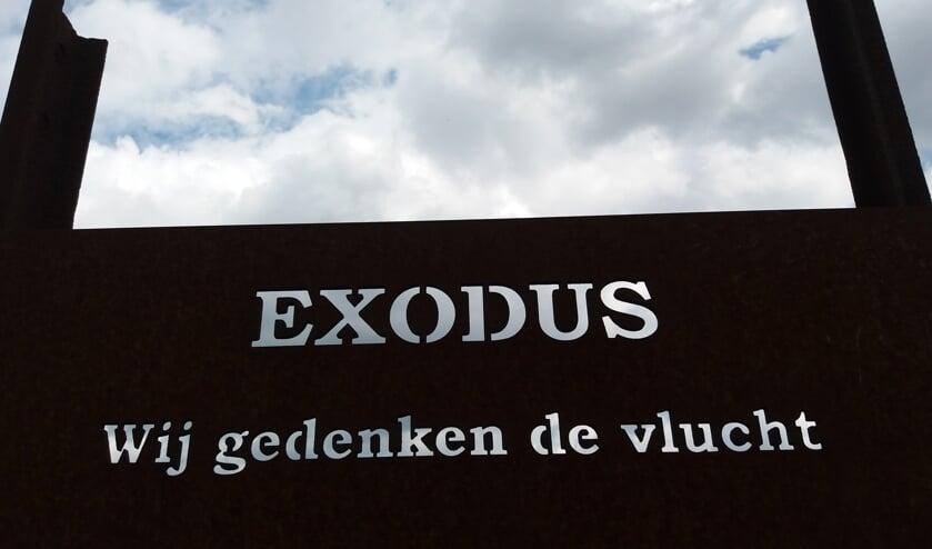 De Exodus als blijvende herinnering op De Praets. (foto: Jan Castelein)