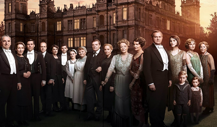 Cast Downton Abbey. (foto: J. Crawley)