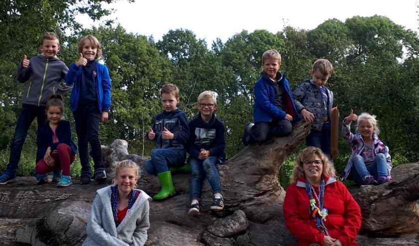 Bevers Scouting Zetten. (foto: Scouting Zetten)