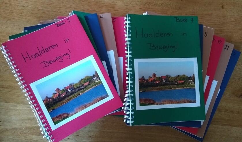 Inspiratieboeken Haalderen. (foto: Sanne Cobussen )