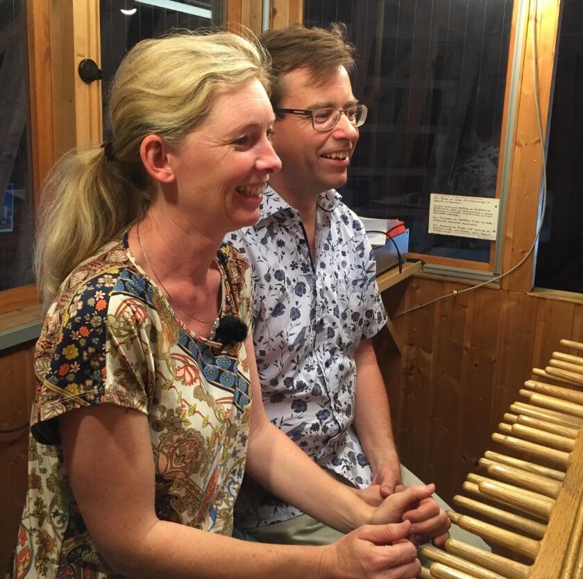 Ariane Toffel en Georg Wagner (foto: PR Cuneragilde)