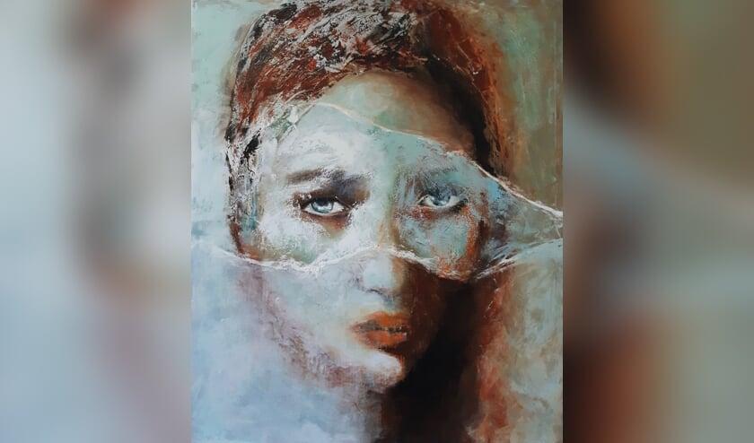 Portretschilderij. (foto: Jacqueline van Loef)