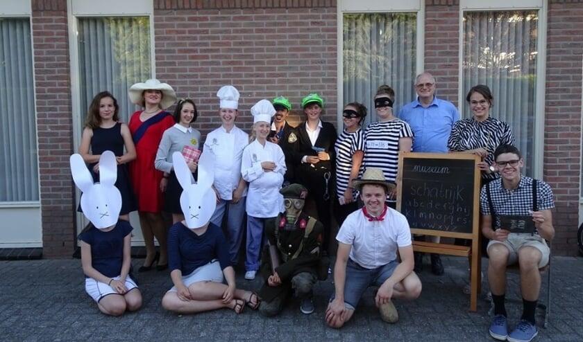 Vossenjacht tijdens de VakantieBijbelWeek in IJzendoorn. (foto: VBW IJzendoorn)