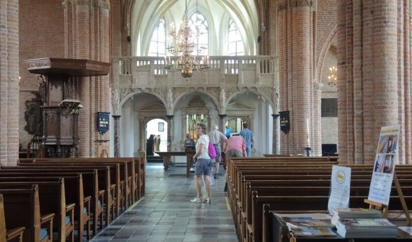 Doksaal in de Cunerakerk. (foto: Willy Hoorn)