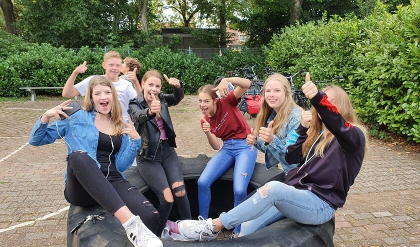 Jongeren van Heteren. (foto: Benny Voorn)