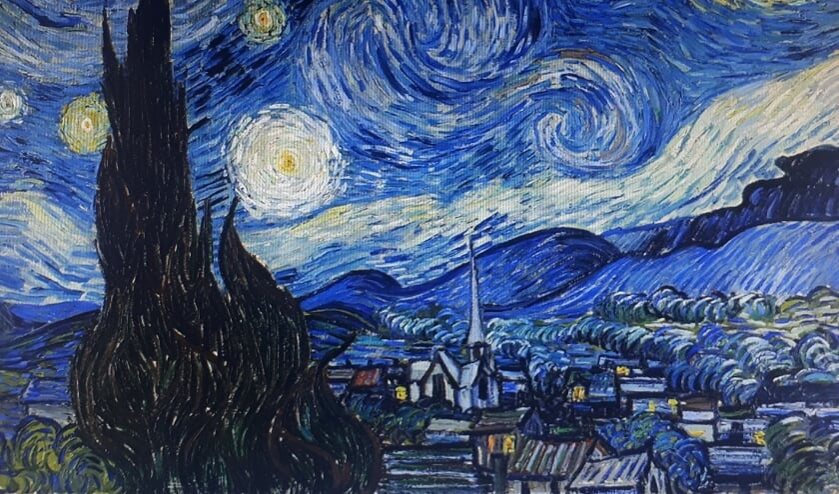 Sterrenwacht van Vincent van Gogh. (foto: Charlotte Selten)