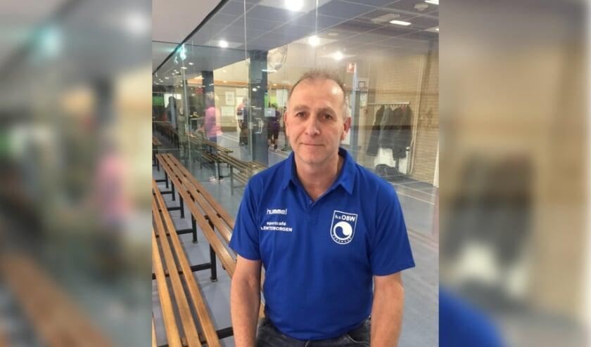 Coach Jan Lentjes. (foto: Vera van Embden)