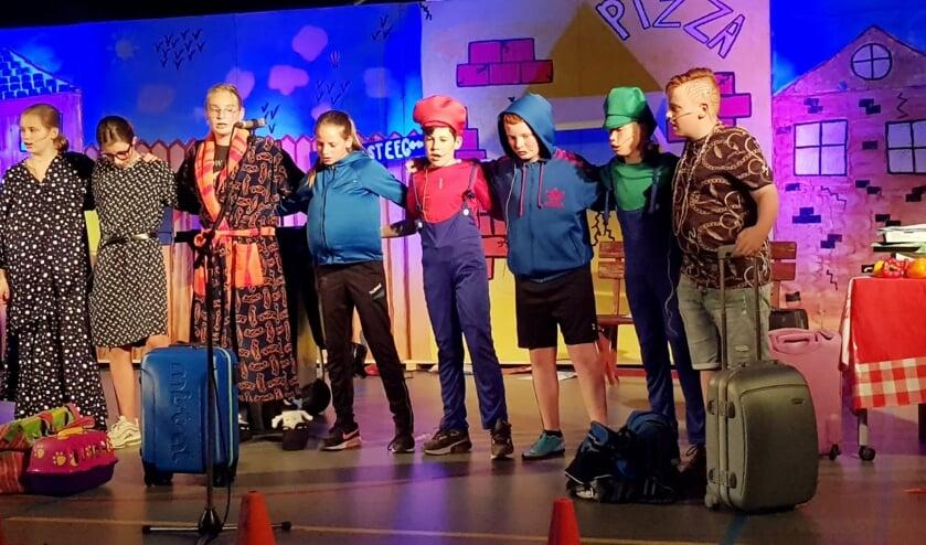 Musicalgroep 8 De Doornick. (foto: school De Doornick)