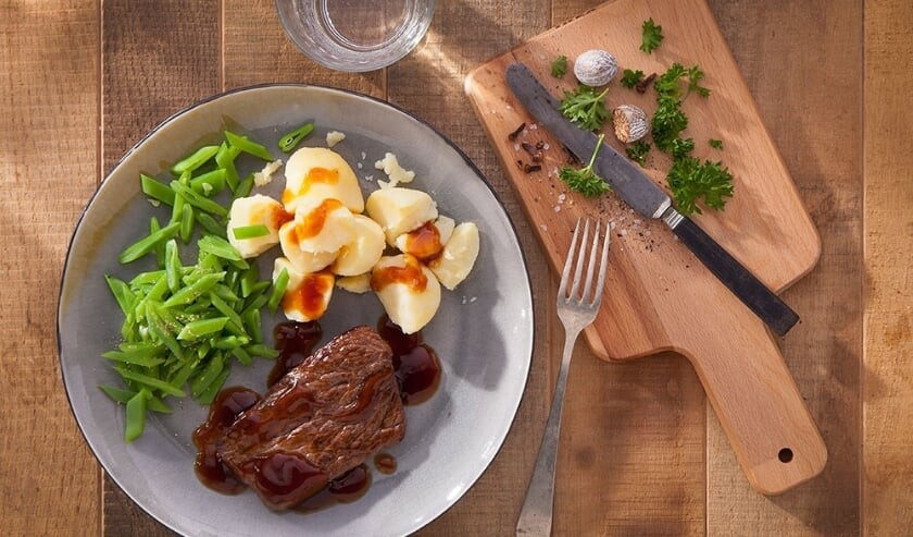 Een gezonde maaltijd dagelijks thuisbezorgd. (foto: Food Connect)