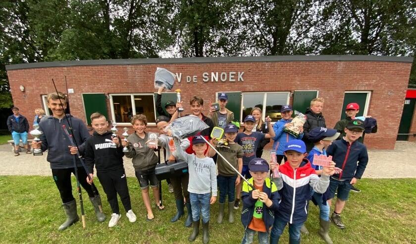 Groepsfoto Jeugd HSV De Snoek. (foto: Roel Derksen)
