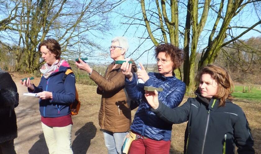 Deelnemers aan de Kaart en Kompas workshop. (foto: Paul van Dommelen)