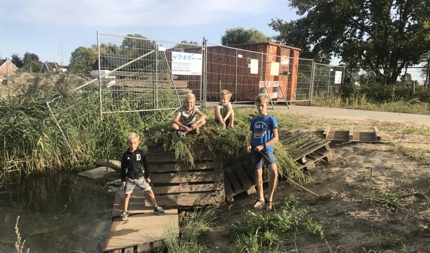 Cas, Sven, Hidde, Luke. (foto: Gerdine Steller)
