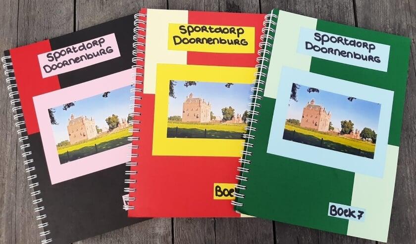 Inspiratieboeken Sportdorp Doornenburg. (foto: Rianne Raijmann)