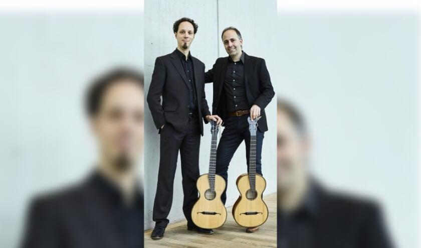<p>Gitaarduo Cordas/Elias. (foto: Merlijn Doomernik)</p>