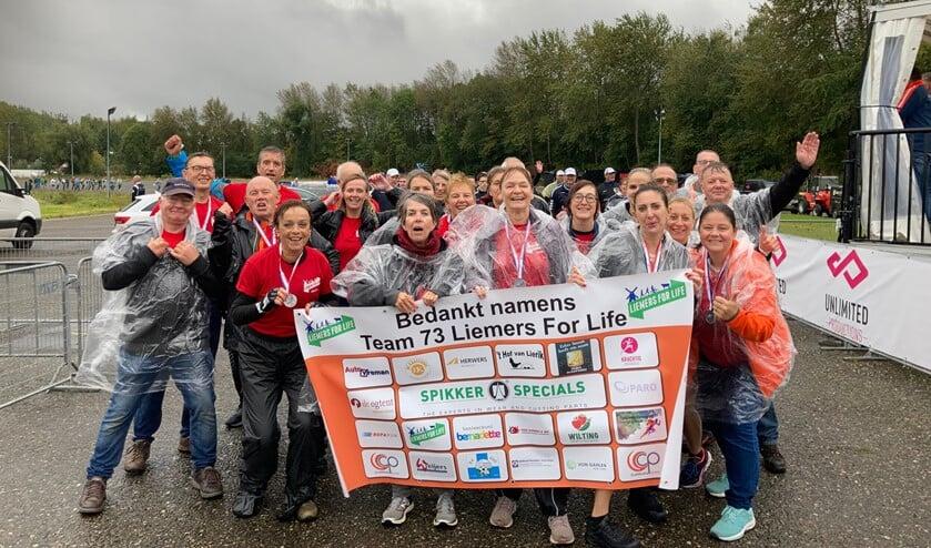 Team 73 Liemers heeft haar doel behaald!