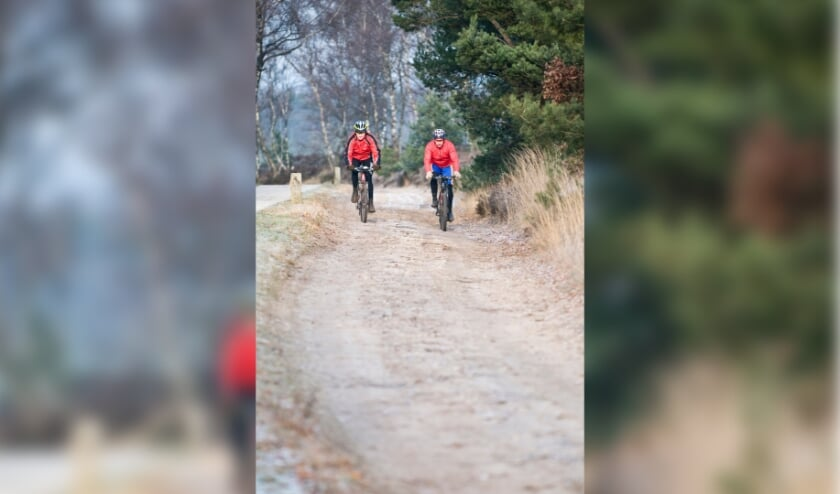 <p>Mountainbikers. (foto: Natuurmonumenten)</p>