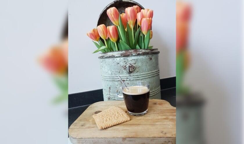 <p>Koffie met koekjes. (Foto: Vrijwilliger Marikenhuis)</p>