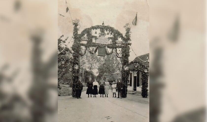 Viering Koninginnedag in Kesteren op 31 augustus 1923
