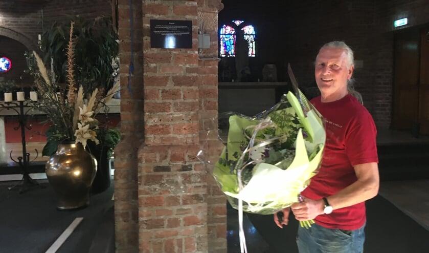 <p>Jos Jeurissen heeft de naam van &#39;zijn&#39; podium onthuld. (foto: Archief Zandse Kerk)</p>